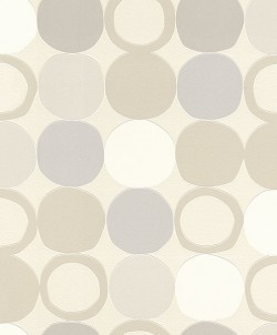 2836-805109 Tybalt Grey Geometric Wallpaper