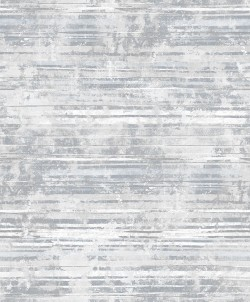 2838-IH2253 Makayla Grey Distressed Stripe Wallpaper