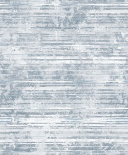 2838-IH2255 Makayla Blue Distressed Stripe Wallpaper
