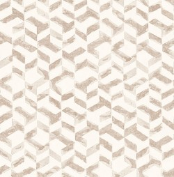 2902-25503 Instep Rose Gold Abstract Geometric Wallpaper