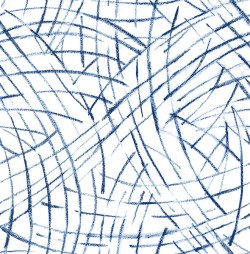 2902-25504 Willy Nilly Blue Brushstrokes Wallpaper