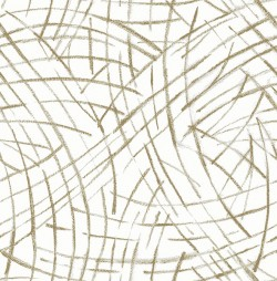 2902-25505 Willy Nilly Gold Brushstrokes Wallpaper