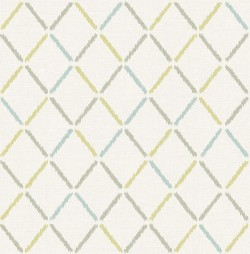 2902-25533 Allotrope Multicolor Linen Geometric Wallpaper
