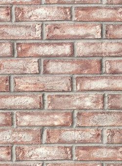 2921-50101 Appleton Maroon Faux Weathered Brick Wallpaper