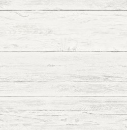 2922-22307 Colleen White Washed Boards Wallpaper
