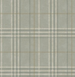 3114-003316 Rockefeller Sage Plaid Wallpaper