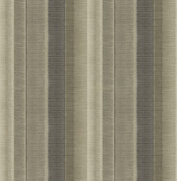 3114-003325 Flat Iron Taupe Stripe Wallpaper