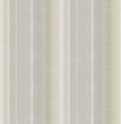 3114-003326 Flat Iron Silver Stripe Wallpaper