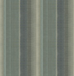 3114-003327 Flat Iron Teal Stripe Wallpaper