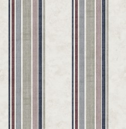 3114-003334 Hamilton Red Stripe Wallpaper