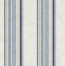 3114-003336 Hamilton Blue Stripe Wallpaper