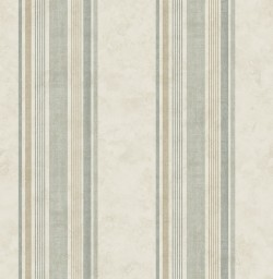 3114-003337 Hamilton Green Stripe Wallpaper