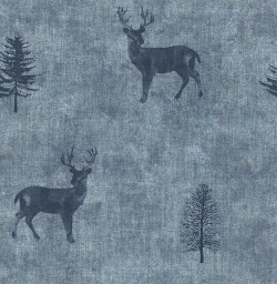 3114-003371 Sugar Hill Blue Lodge Wallpaper