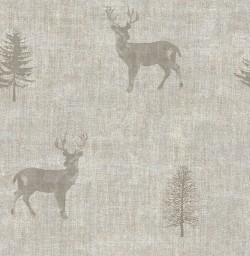 3114-003373 Sugar Hill Taupe Lodge Wallpaper
