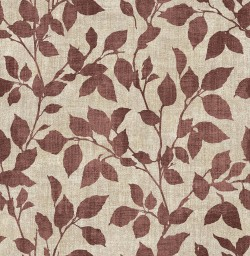 3114-003385 Gramercy Park Red Leaf Wallpaper