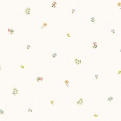 3117-21693 Bloom Toss Multicolor Floral Wallpaper
