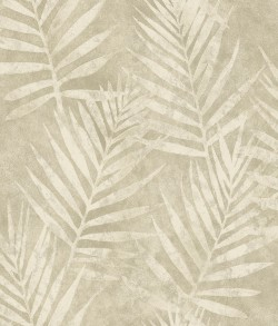 3117-675313 Amador Pewter Palm Wallpaper