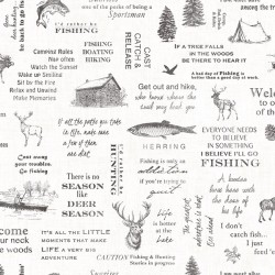 3118-01475 North Hills Black Camping Quotes Wallpaper