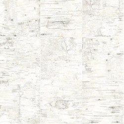 3118-12643 Champlain Off-White Grid Wood Wallpaper