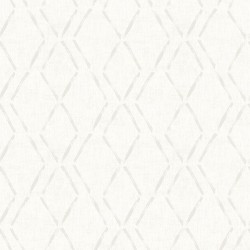 3118-12653 Tapa Cream Trellis Wallpaper