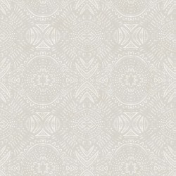 3118-12664 Java Light Grey Medallion Wallpaper
