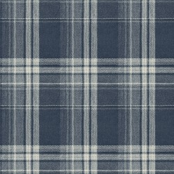3118-12674 Saranac Navy Flannel Wallpaper