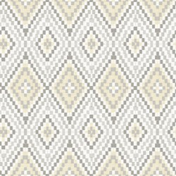 3118-12711 Ganado Beige Geometric Ikat Wallpaper