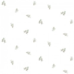 3118-49469 Pinecone Toss Sage Conifer Wallpaper