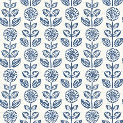 3119-13512 Dolly Navy Floral Wallpaper