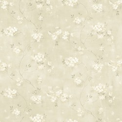 3119-441011 Braham Taupe Floral Trail Wallpaper