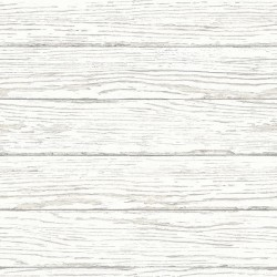 3120-13695 Rehoboth White Distressed Wood Wallpaper
