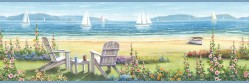 3120-20021B Barnstable Blue Seaside Portrait Border