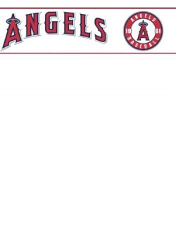 ZB3382BD Angels Border Kids Boy Sports Wallpaper Border