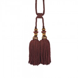Bigelow Autumn Berry Decorative Tassel