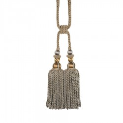 Bigelow Metallic Decorative Tassel