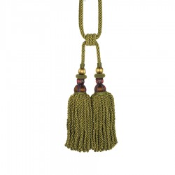Bigelow Thistle Berry Decorative Tassel