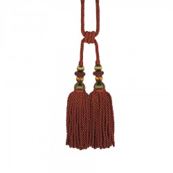 Bigelow Bordeaux Decorative Tassel
