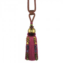 Caffiato Thistle Berry Decorative Tassel