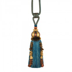 Caffiato Teal Decorative Tassel