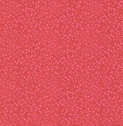Gretel Red Floral Meadow Wallpaper