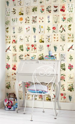 Botanical Paper Wallpaper Mural