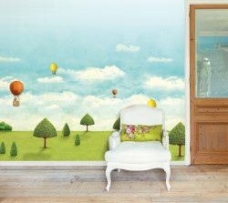 Large Royal Pipland Wallpaper Mural