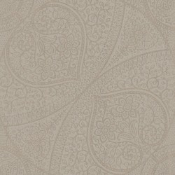 Yasamin Taupe Mehndi Medallion Wallpaper