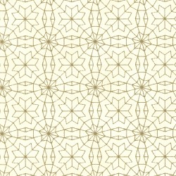 Marqueterie Gold Mosaic Geometric Wallpaper