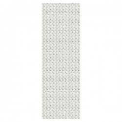 Wooly White Knit Mural