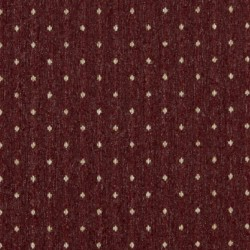 3612 Burgundy Dot Fabric by Charlotte Fabrics