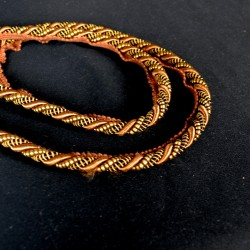 CT300 Brown Gold Lip Cord