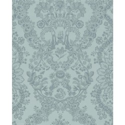 375042 Grillig Blue Damask Wallpaper