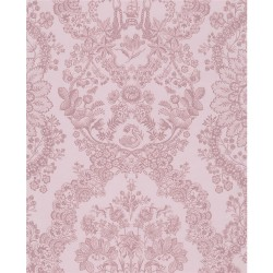375043 Grillig Light Pink Damask Wallpaper