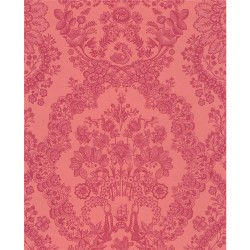 375044 Grillig Red Damask Wallpaper